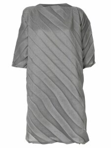 Issey Miyake Cauliflower Washi pleated tunic - Grey