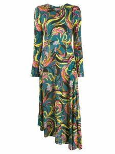La Doublej Pina dress - Blue