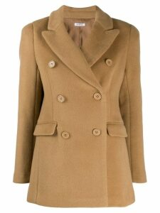 P.A.R.O.S.H. double breasted coat - Neutrals