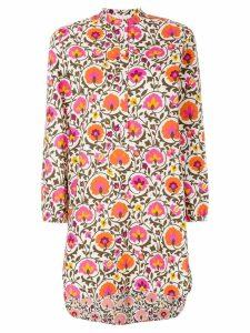 La Doublej Narciso beach shirt dress - Multicolour