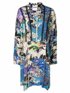 Koché Phoenix print dress - Multicolour