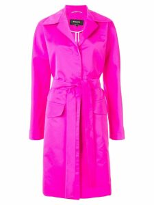 Rochas belted trench coat - Pink