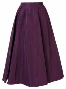 Rochas pleated full skirt - Purple