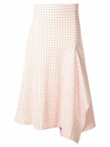 Rosetta Getty check print skirt - Pink