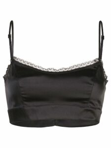 Morgan Lane Noelle bra top - Black