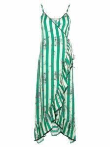 Morgan Lane Sofia wrap dress - Green