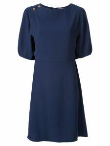 Chloé button detail short dress - Blue