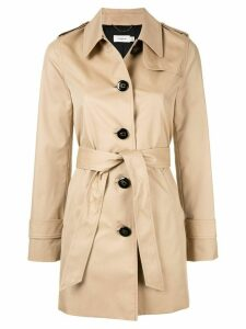 Coach short trench coat - Neutrals