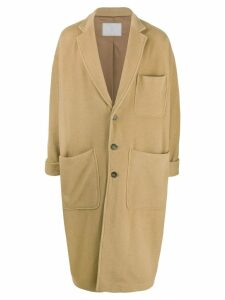 Société Anonyme single breasted midi coat - Neutrals