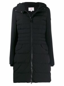 Peuterey padded hooded coat - Black