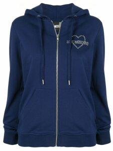 Love Moschino LOVE hoodie - Blue