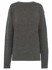Prada relaxed cashmere jumper - Grey