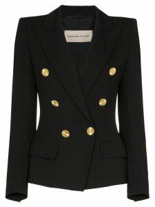 Alexandre Vauthier double-breasted blazer jacket - Black