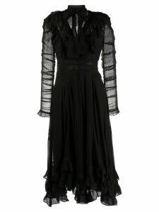 Zimmermann Sabotage lace dress - Black