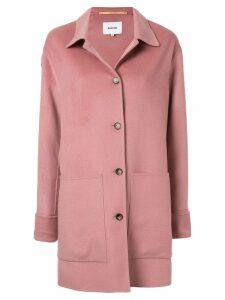 Nanushka button cuffs jacket - Pink