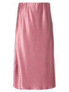 Nanushka plain high-waisted skirt - PINK
