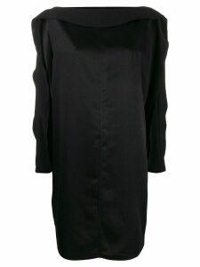 Gianluca Capannolo plain shift dress - Black