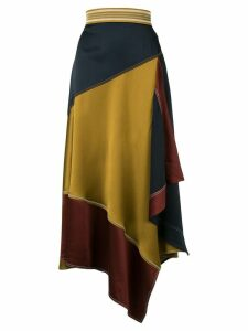 Peter Pilotto asymmetric skirt - Multicolour