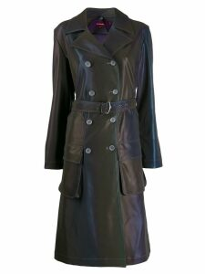 Sies Marjan reflective trench coat - Blue