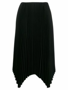 Fabiana Filippi pleated midi skirt - Black