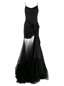 Alessandra Rich Fab evening dress - Black