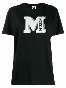 Missoni logo print T-shirt - Black