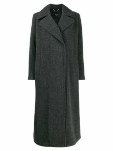 Paltò double-breasted coat - Grey