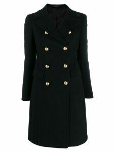 Tagliatore double-breasted coat - Black