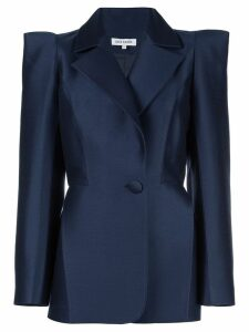 Dice Kayek structured shoulder blazer - Blue