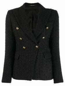 Tagliatore Jalicya tweed blazer - Black