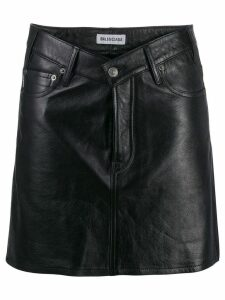 Balenciaga V-Neck skirt - Black