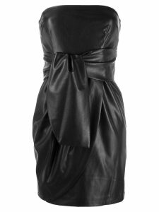 Liu Jo bow bandeau dress - Black