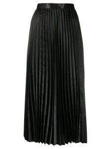 Junya Watanabe high-waisted pleated skirt - Black
