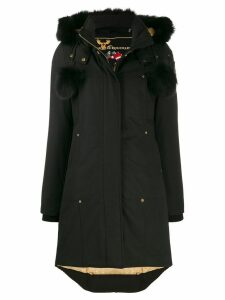 Moose Knuckles pompom parka - Black