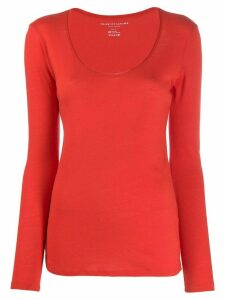 Majestic Filatures round neck T-shirt - Red
