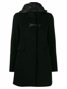 Fay hooded parka coat - Black