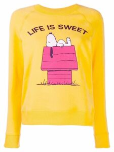Chinti & Parker slim-fit snoopy jumper - Yellow
