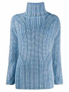 Ermanno Scervino turtle neck jumper - Blue