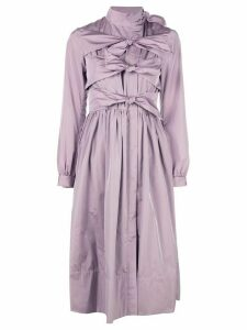 Molly Goddard tie detail dress - Pink