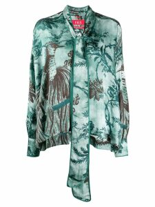 F.R.S For Restless Sleepers Alethia printed blouse - Green
