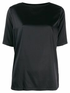 Fabiana Filippi round neck blouse - Black