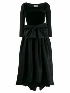 Le Petite Robe Di Chiara Boni oversized bow dress - Black