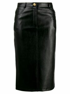 Boutique Moschino slim-fit pencil skirt - Black