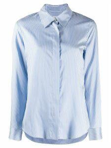 Alberto Biani striped button shirt - Blue
