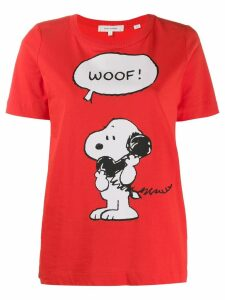 Chinti & Parker slim-fit snoopy t-shirt - Red