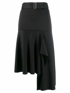Smarteez high-low hem skirt - Black