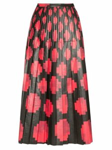Marni Eco leather pixel print skirt - Black