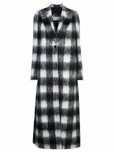 Maison Margiela Shrug mohair coat - Black