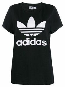 Adidas Adidas Original Trefoil logo T-shirt - Black