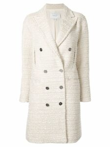 Giambattista Valli classic double-breasted coat - White